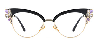97329 Moana Cateye black glasses