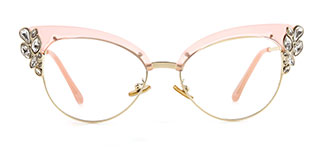 97329 Moana Cateye pink glasses