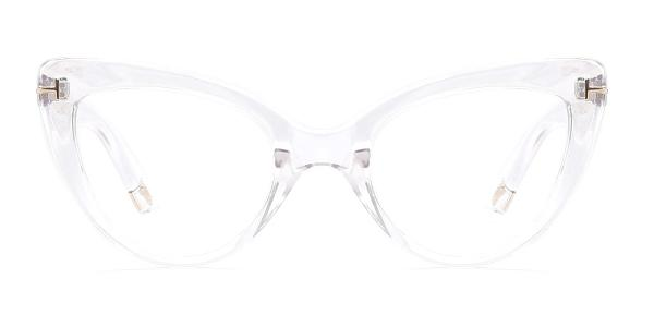 97398 Devorah Cateye clear glasses