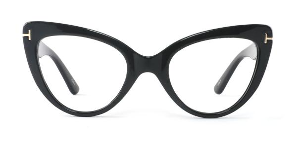 97398 Devorah Cateye black glasses