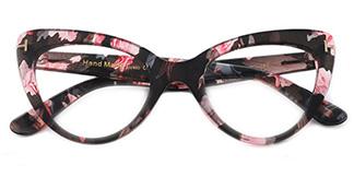 97398 Devorah Cateye black glasses