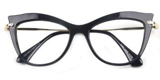 97525 Izabella Cateye purple glasses