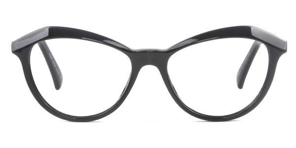 97530 Angelou Cateye white glasses