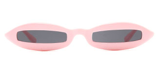97550 Bairstow Cateye pink glasses