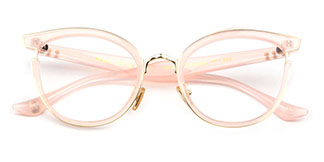 97551 Louise Cateye pink glasses