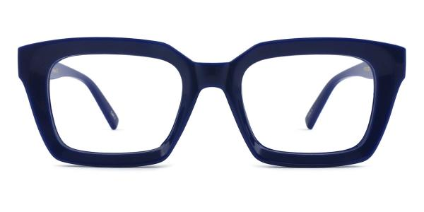 97562 Renee Rectangle blue glasses