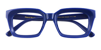 97562 Renee Rectangle blue glasses