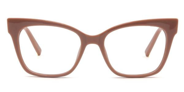 97564 Doyle Rectangle brown glasses