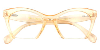 97651 Tabatha Geometric,Butterfly yellow glasses