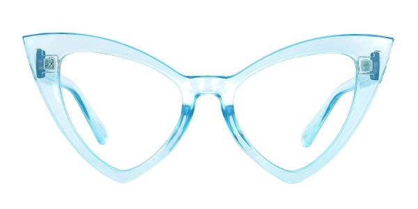 98044 dominic Cateye blue glasses