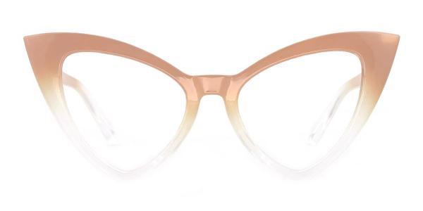 98044 dominic Cateye brown glasses