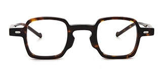 98205 Ania Rectangle tortoiseshell glasses