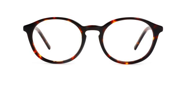 9830 Marty Oval tortoiseshell glasses