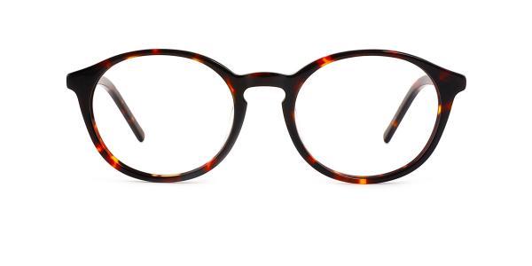 9830 Marty Oval tortoiseshell glasses