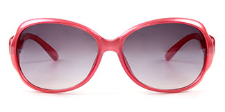 9904 Gabriella Oval pink glasses