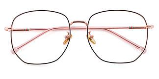 99093 Butler Geometric multicolor glasses