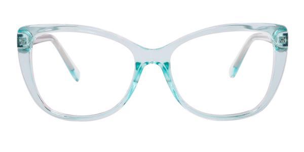 A-2005 Wenona Rectangle blue glasses