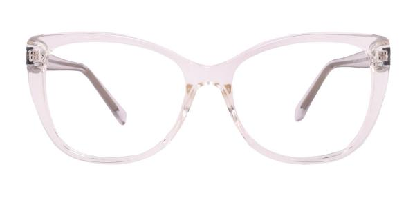 A-2005 Wenona Rectangle clear glasses