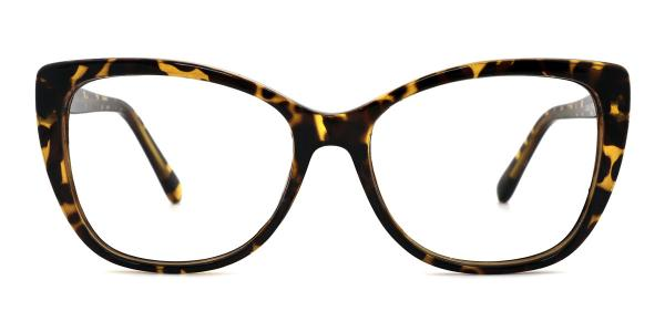 A-2005 Wenona Rectangle tortoiseshell glasses