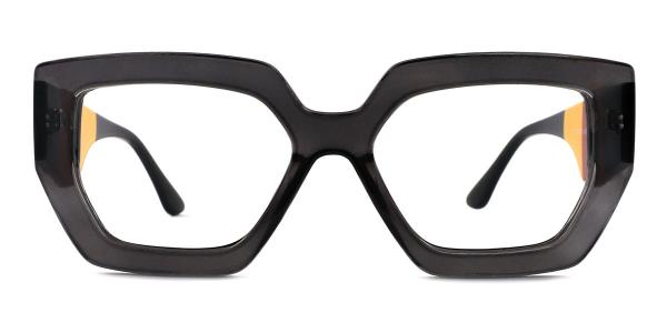 A-2119 Jacqueline Geometric grey glasses
