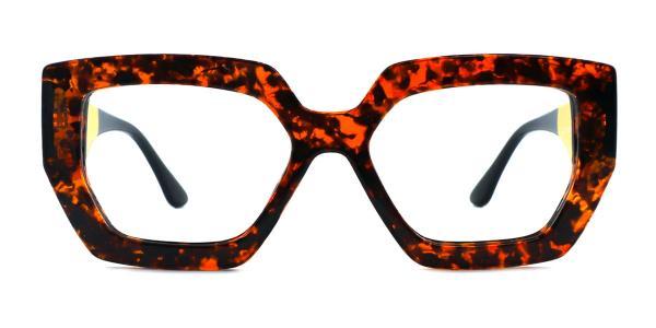 A-2119 Jacqueline Geometric blue glasses