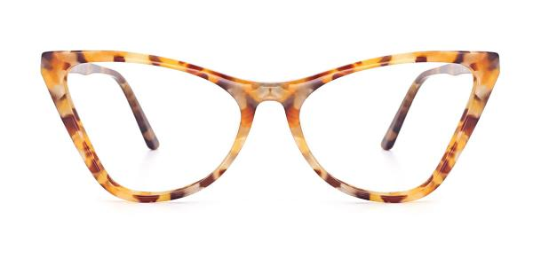 A01 Norah Cateye blue glasses