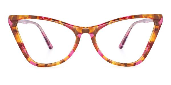 A01 Norah Cateye pink glasses