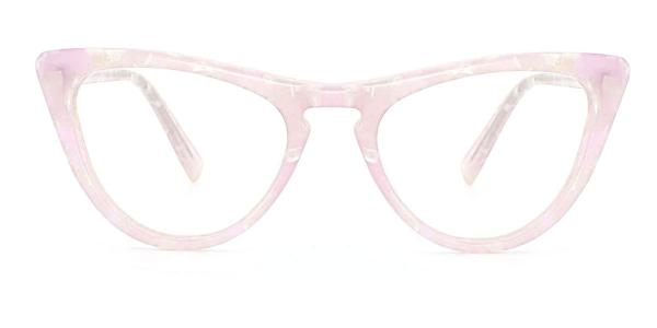 A05 Mary Cateye pink glasses