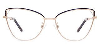A1043 Kylie Cateye pink glasses