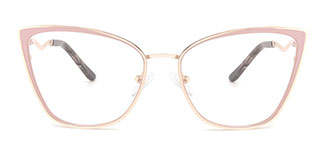 A4006 Makayla Cateye pink glasses