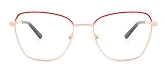 A4008 CassieCatherine Cateye pink glasses