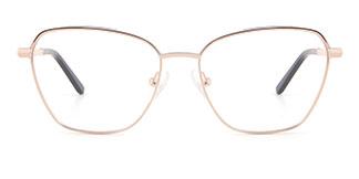 A4008 CassieCatherine Cateye white glasses