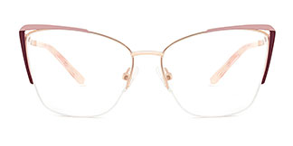 A4009 Abigil Cateye pink glasses