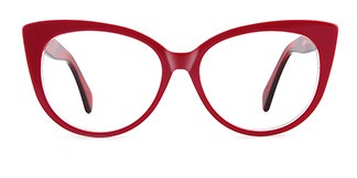 B2928 deborah Cateye blue glasses