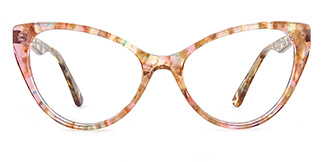 B2929 miranda Cateye floral glasses