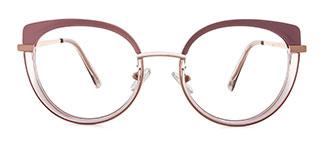 B610 Regan Cateye pink glasses