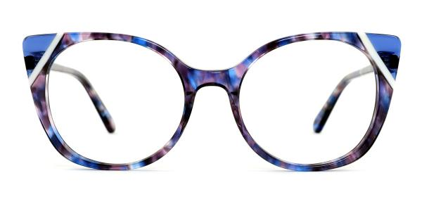 BB5016 Tasha Cateye blue glasses