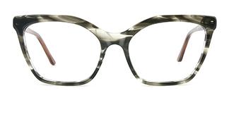 C1077-1 Nanna Cateye grey glasses