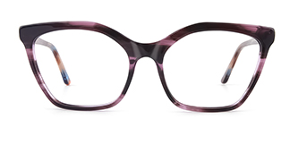 C1077 monica Cateye floral glasses
