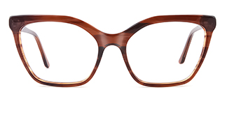 C1077 monica Cateye tortoiseshell glasses