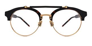 C77005 Gayla Oval tortoiseshell glasses
