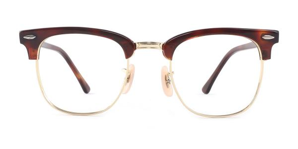 CD3016 Tamala Rectangle brown glasses