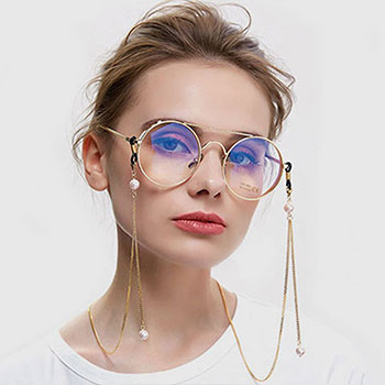 HULDA GLASSES CHAIN