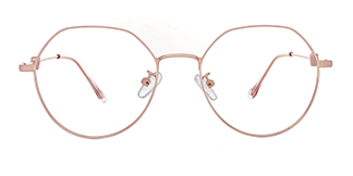 D2965 Analiese Geometric, pink glasses