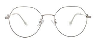 D2965 Analiese Geometric, silver glasses