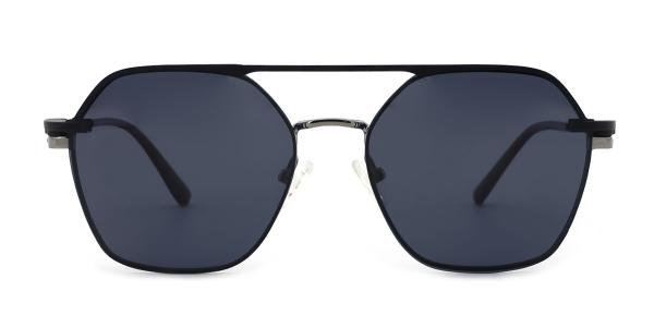 DP33066 icey Aviator silver glasses