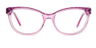 F1829 vickyvictoria Cateye purple glasses