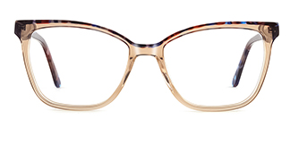 F1960 Gail Cateye brown glasses
