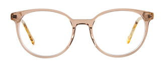 F2137 Grselda Oval brown glasses