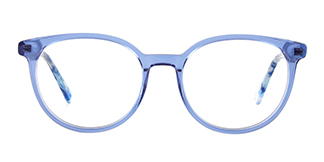 F2137 Grselda Oval blue glasses